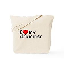 Love My Drummer Tote Bag