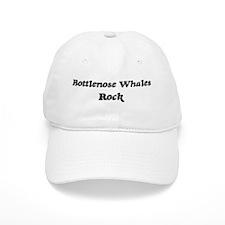 Bottlenose Whaless rock Baseball Cap