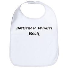 Bottlenose Whaless rock Bib