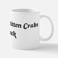 Chinese Mitten Crabss rock] Mug