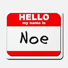 Hello my name is Noe Mousepad