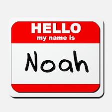 Hello my name is Noah Mousepad
