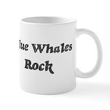 Blue Whaless rock Mug