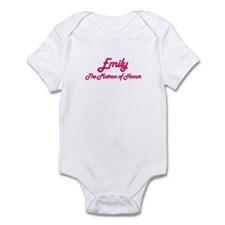 Emily - Matron of Honor Infant Bodysuit