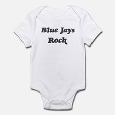 Blue Jayss rock Infant Bodysuit