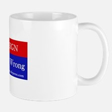 The RIGHTeous Are Wrong Mug