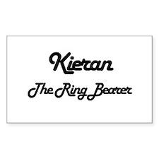 Kieran - The Ring Bearer Rectangle Decal