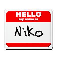 Hello my name is Niko Mousepad