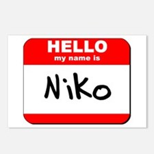Hello my name is Niko Postcards (Package of 8)