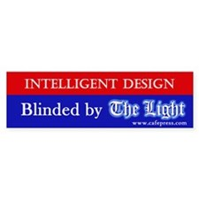 Blinded by The Light Bumper Bumper Sticker