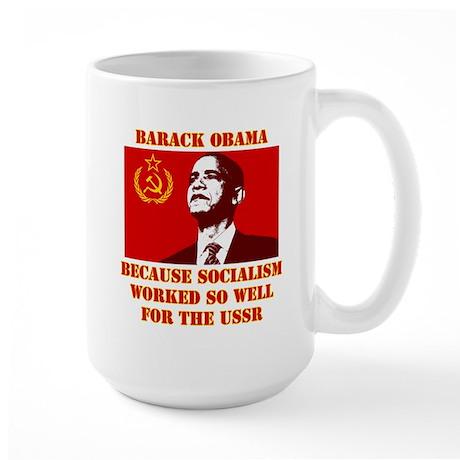 Obama sucks Large Mug