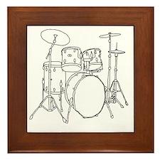 Drumset Framed Tile