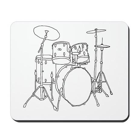 Drumset Mousepad