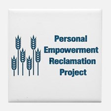 Personal Empowerment Tile Coaster