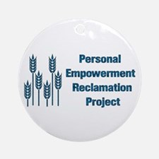 Personal Empowerment Ornament (Round)