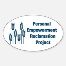 Personal Empowerment Oval Decal