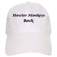 Howler Monkeyss rock] Baseball Cap