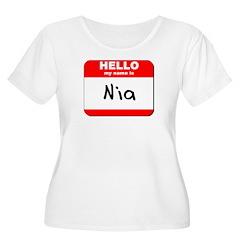 Hello my name is Nia T-Shirt