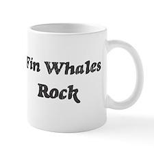 Fin Whaless rock Mug