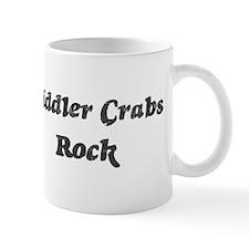 Fiddler Crabss rock Mug