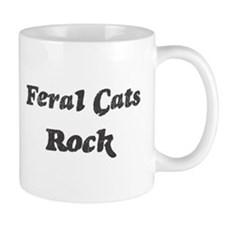 Feral Catss rock Mug