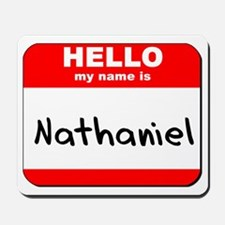 Hello my name is Nathaniel Mousepad
