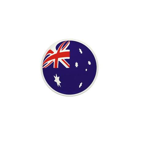 Australian Flag Mini Button/Badge (100 pack)