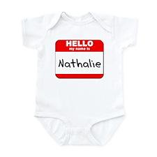 Hello my name is Nathalie Infant Bodysuit
