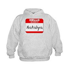 Hello my name is Natalya Hoodie
