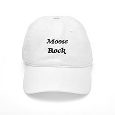 Mooses rock Baseball Cap