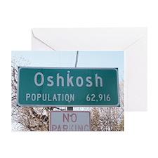 Oshkosh Population Greeting Cards (Pk of 10)