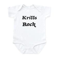 Krillss rock Infant Bodysuit