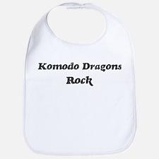 Komodo Dragonss rock Bib