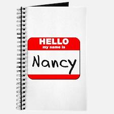 Hello my name is Nancy Journal