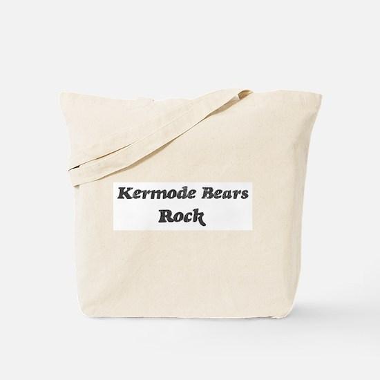 Kermode Bearss rock Tote Bag