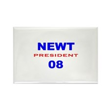 Newt Gingrich, President, 08, Rectangle Magnet-3