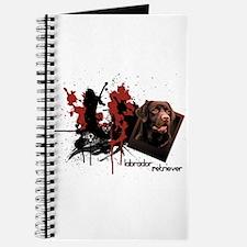 Chocolate Labrador Journal