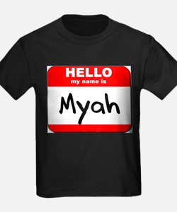 Hello my name is Myah T