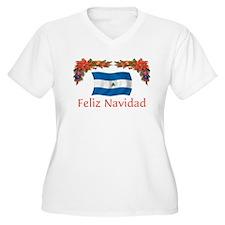 Nicaragua Feliz Navidad 2 T-Shirt
