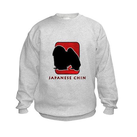 Japanese Chin Kids Sweatshirt