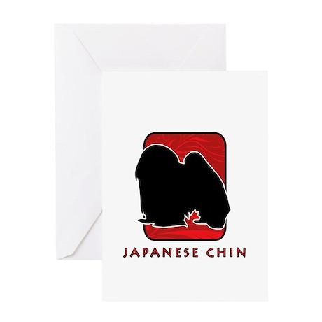 Japanese Chin Greeting Card