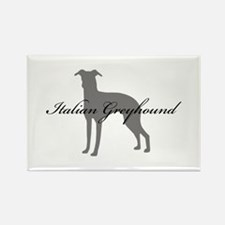 Italian Greyhound Rectangle Magnet (10 pack)