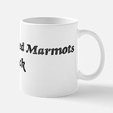 Yellow-Bellied Marmotss rock Mug