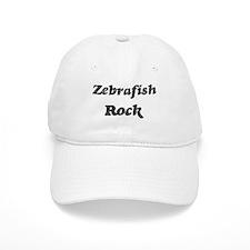 Zebrafishs rock Baseball Cap