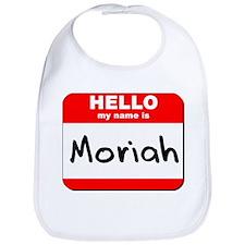 Hello my name is Moriah Bib