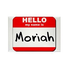 Hello my name is Moriah Rectangle Magnet