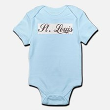 Vintage St. Louis Infant Creeper