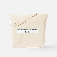 Red-Eared Slider Turtles roc Tote Bag