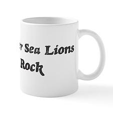 Steller Sea Lionss rock Mug