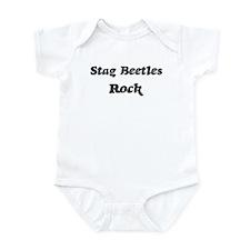 Stag Beetless rock Infant Bodysuit